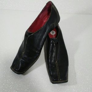 Aerosoles Yanky Andy Leather Slip on Loafers 9